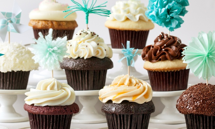 Trophy Cupcakes and Party: $19.50 for A Dozen Classic Cupcakes or $38.50 Worth of Specialty Cupcakes at Trophy Cupcakes and Party ($38.50 Value)