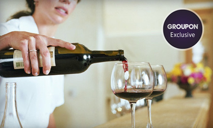 Winery Day Trip - Goose Island: Groupon Exclusive: Tours and Tastings at Two Wineries with Lunch and Transportation