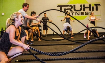 One- or Three-Month Unlimited Gym Membership to TruHit Fitness (Up to 69% Off)