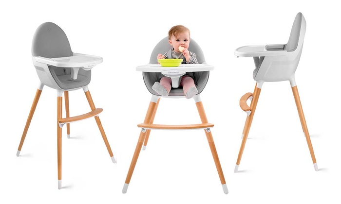 chaise haute b b kinderkraft groupon. Black Bedroom Furniture Sets. Home Design Ideas