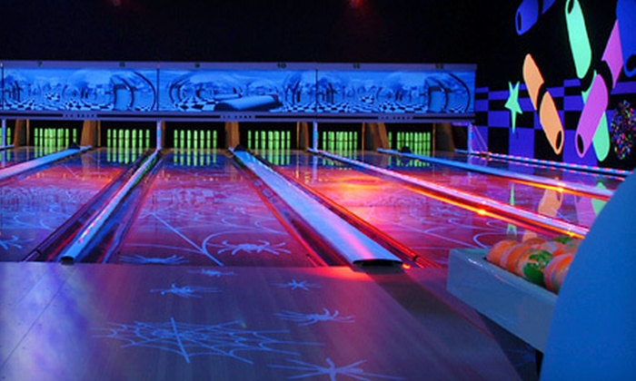 Lucky's Lanes - Lefty's Lanes: Three Games of Candlepin Bowling for 4, or a Birthday Party with Food for Up to 10 at Lucky's Lanes (Up to Half Off)