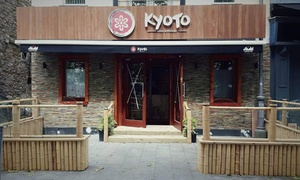 Kyoto Sushi Noodle: Sushi Platter with Beer or Wine for Two or Four at Kyoto Sushi & Noodle