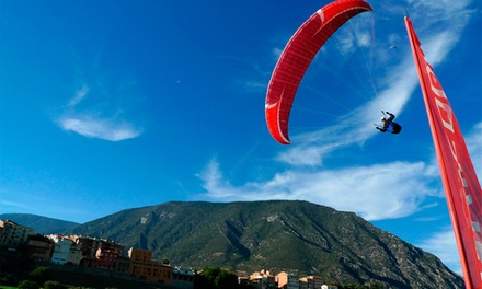Vuelo acrobático en parapente, degustación con opción a excursión en 4x4 para 1 o 2 desde 79,90 € con Parapent Organya