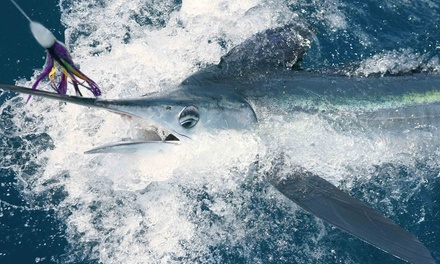 Four-Hour Deep-Sea-Fishing Trip for One or Two from Fish On Board Charters (Up to 53% Off)