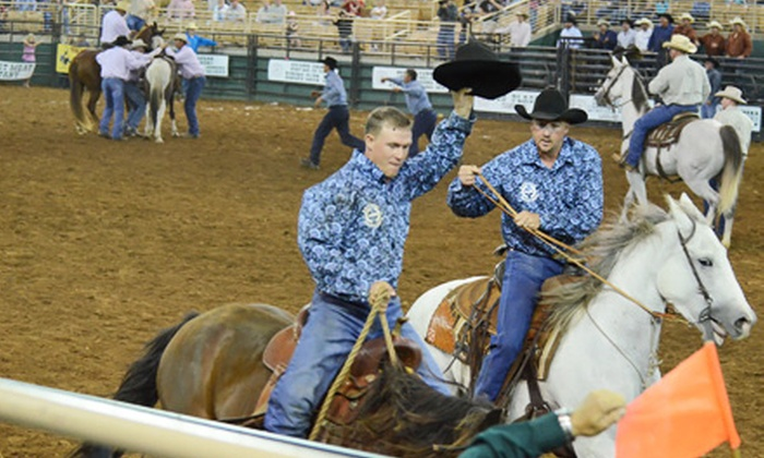 Ranch Rodeo State Finals - Silver Spurs Arena: Florida Ranch Rodeo Finals for Two or Four at Silver Spurs Arena on September 27 or 28 (Up to 55% Off)