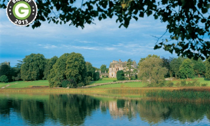 Castle Leslie - Glaslough: Castle Leslie Estate: One or Two Night Stay For Two from £125 With Bubbly, Chocolates and €50 Resort Credit