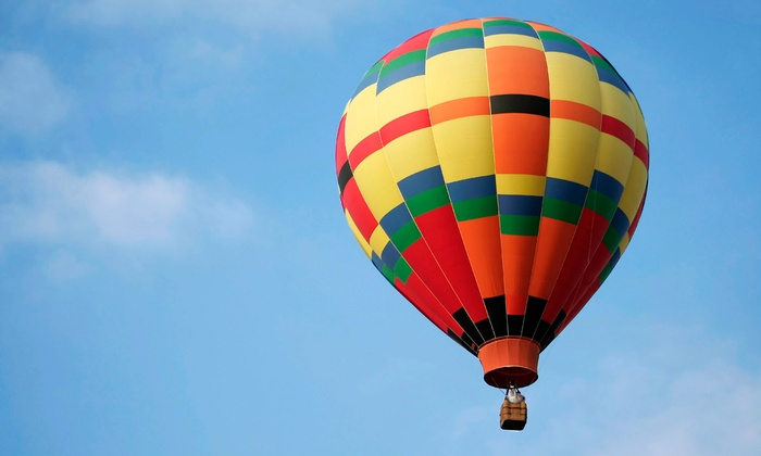 Boise Hot Air Company - Lake Harbor: Hot-Air-Balloon Ride and a Sparkling Beverage for One, Two, or Four from Boise Hot Air Company (Half Off)