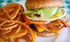 The Burger Shack - Spring Valley: Burgers, Hot Dogs, and Shakes at The Burger Shack (Half Off). Two Options Available.