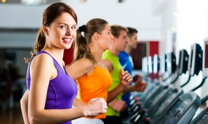 Gold's Gym: One-Month Gym Membership with Personal Training and Protein Shake at Gold's Gym of Islip (Up to 89% Off)