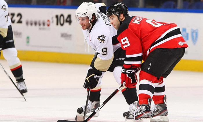 Albany Devils vs. Wilkes Barre Scranton Penguins - Boardwalk Hall: One Ticket to an Albany Devils Hockey Game at Boardwalk Hall on Sunday, March 23, at 4 p.m. (Up to 53% Off)