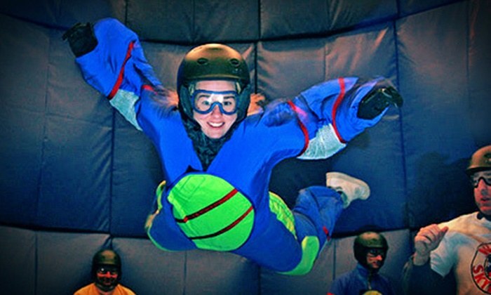 Niagara Freefall Indoor Skydiving & Interactive Center - Hamilton: $69 for Indoor-Skydiving Experience at Niagara Freefall Indoor Skydiving & Interactive Center ($141.25 Value)