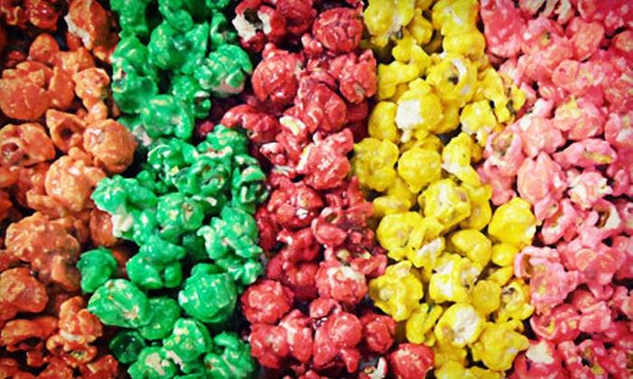 The Popcorn Fanatic - The Popcorn Fanatic: Gourmet Popcorn at The Popcorn Fanatic (Half Off). Two Options Available.