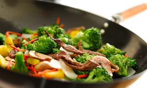 Pacific Fusion: Asian Buffet for Two During Lunch or Dinner at Pacific Fusion (Up to 49%Off)