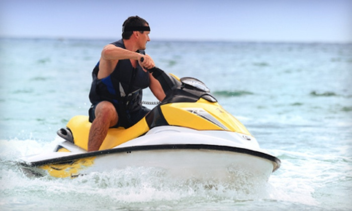 LA Boat Rentals - Redondo Beach: One or Two One-Hour Sea-Doo 2007 GTI Jet Ski Rentals at LA Boat Rentals in Redondo Beach (Up to 65% Off)