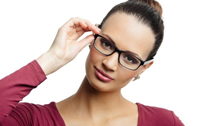 Eye Care Crisp Vision Optometry - Multiple Locations: $20 for $150 Towards a Complete Pair of Prescription Eyeglasses at Crisp Vision Optometry