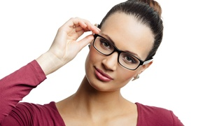 Eye Care Crisp Vision Optometry: $17 for $150 Towards a Complete Pair of Prescription Eyeglasses at Crisp Vision Optometry