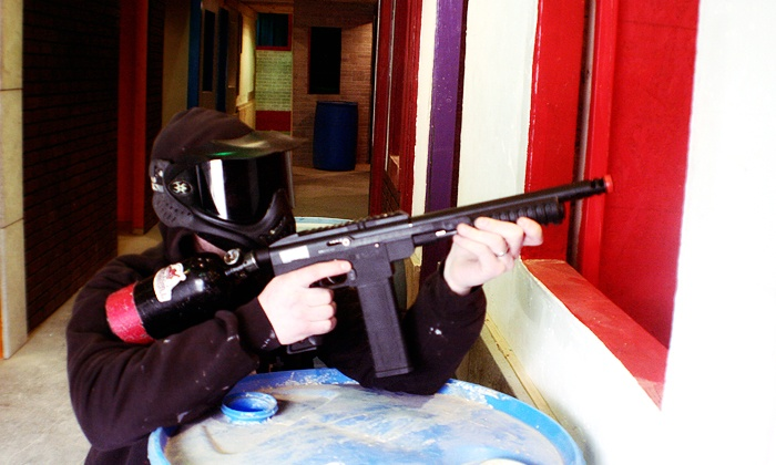 Prairie Storm Paintball - Prairie Storm Paintball: One Hour of Indoor Reball Paintball for One or Two at Prairie Storm Paintball (50% Off)
