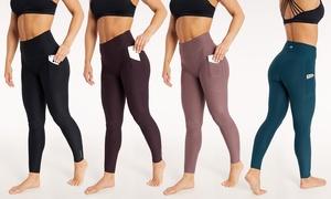 "Marika Women's Tummy-Control 27"" Leggings with Pockets"