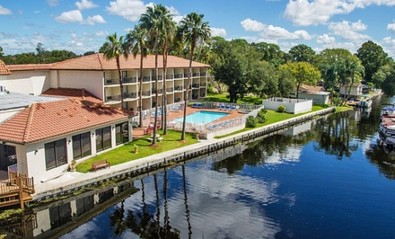 Groupon Deal: Stay at Vista Hotel on Lake Tarpon in Palm Harbor, FL. Dates Available into April.