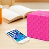 Cube Wireless Bluetooth Speaker with Mic