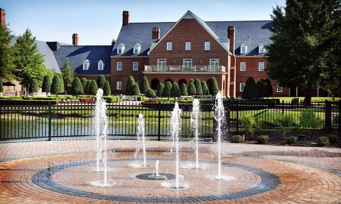 The Founders Inn and Spa - Virginia Beach, VA: One-Night Stay with Spa Credit at The Founders Inn and Spa in Virginia Beach