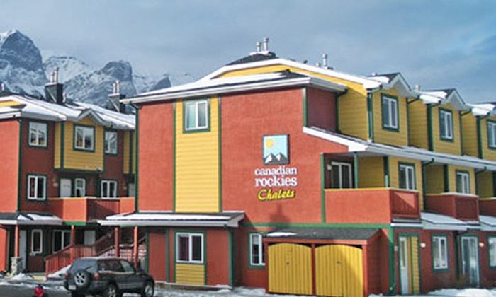 Canadian Rockies Chalets - Canmore: $189 for a Two-Night Stay for Up to Six Adults and Two Kids with Movie Rental at Canadian Rockies Chalets ($381 Value)