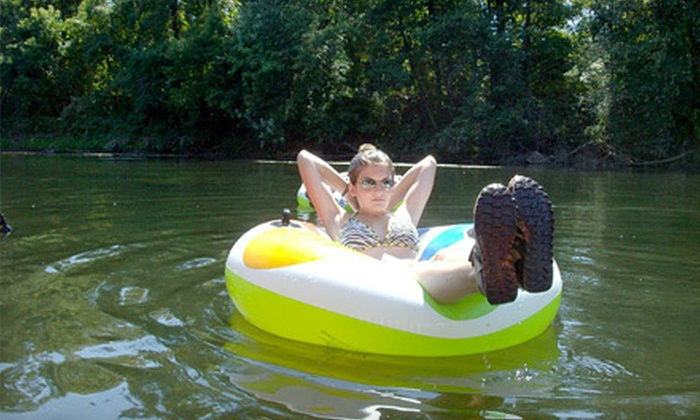 Schuylkill River Outdoors - Douglassville: River Tubing for Two or Four from Schuylkill River Outdoors in Douglassville (Up to 53% Off)