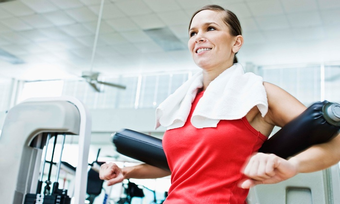 Fit for Life Fitness Center - Cranford: One-Month Gym Membership or Three Personal-Training Sessions at Fit for Life Fitness Center (Up to 74% Off)