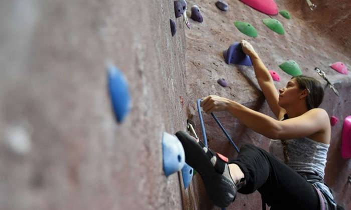 Adventure Rock Climbing Gym - Multiple Locations: Clip'N Go Indoor Rock-Climbing Session for One or Two at Adventure Rock Climbing Gym (Up to 42% Off)