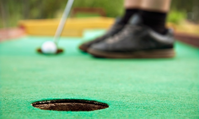 Golf Country - Multiple Locations: Round of Mini Golf for Four at Golf Country (Up to 44% Off)