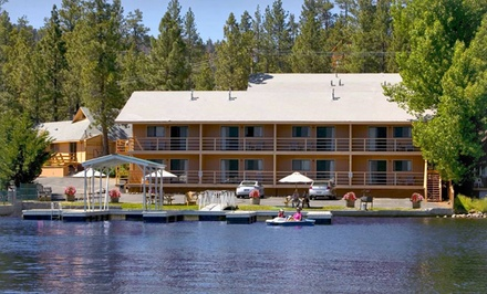 Groupon Deal: 1- or 2-Night Stay for Two at Big Bear Lake Front Lodge in Big Bear Lake, CA