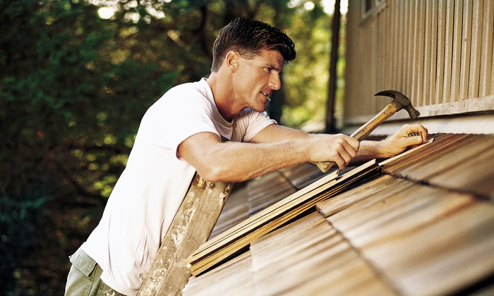 Green Roofing & Construction - Huntsville: Two or Four Hours of Handyman Services at Green Roofing & Construction (70% Off)