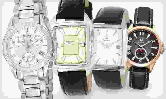 Bulova Watches: Bulova Watches (Up to 75% Off). Four Styles Available. Free Shipping and Free Returns.