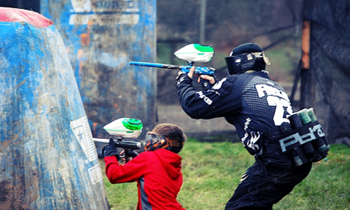 Diamond Hill Paintball - Diamond Hill Paintball: Zombie-Apocalypse Maze or Three-Hours of Paintball with Equipment for Two at Diamond Hill Paintball (Up to 51% Off)