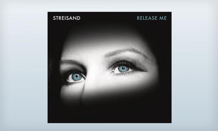 """Barbra Streisand Release Me CD + Bonus DVD: $12 for Barbra Streisand's """"Release Me"""" CD and """"A MusiCares Tribute to Barbra Streisand"""" DVD ($28.96 List Price)"""