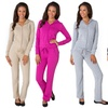 Women's Terry Solid Tracksuit