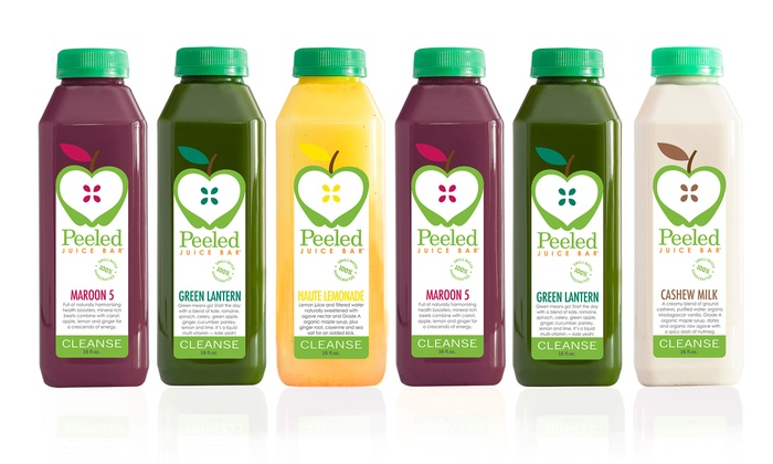 Peeled - Multiple Locations: $97 for Three-Day Juice Cleanse from Peeled ($195 Value)