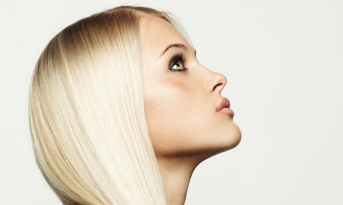 Hearts New York Salon - Midtown: Haircut Package or Control Smoothing Treatment at Hearts New York Salon (Up to 77% Off). Four Options Available.