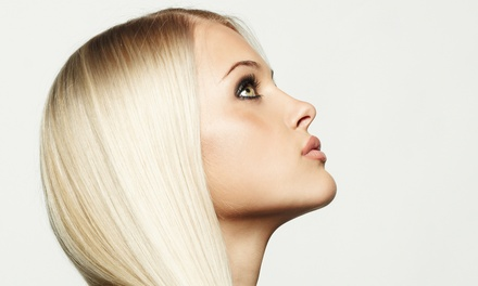 Haircut Package or Control Smoothing Treatment at Hearts New York Salon (Up to 77% Off). Four Options Available.
