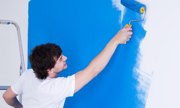 Flat Rate Remodeling Inc - Los Angeles: Prep Work and Painting for Two or Three Rooms from Flat Rate Remodeling Inc (Up to 79% Off)
