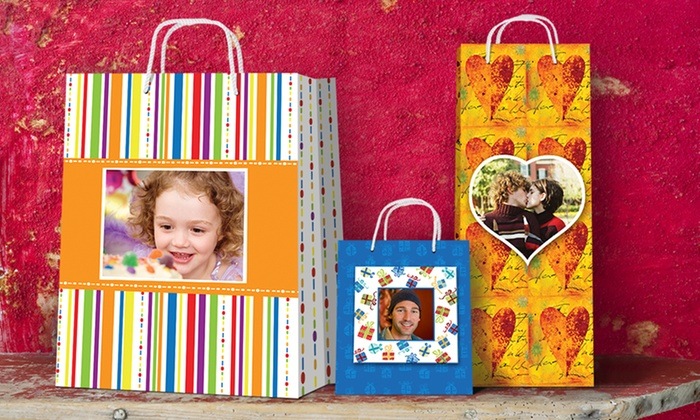 Picture Gift Bags: $12 for $25 Worth of Personalized Gift Bags from Picture Gift Bags