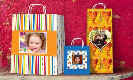 $12 for $25 Worth of Personalized Gift Bags from Picture Gift Bags