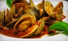 V & R Italian Ristorante - Mansion Area: Italian Dinner with Appetizers and Wine for Two or Four at V & R Italian Ristorante (Up to 56% Off)