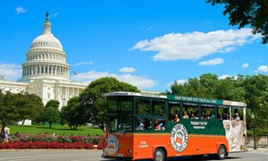 Up to 38% Off Pass from Old Town Trolley Tours of DC at Old Town Trolley Tours of DC, plus Up to 4.0% Cash Back from Ebates.