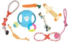 Lot de 10 jouets pour animaux de compagnie
