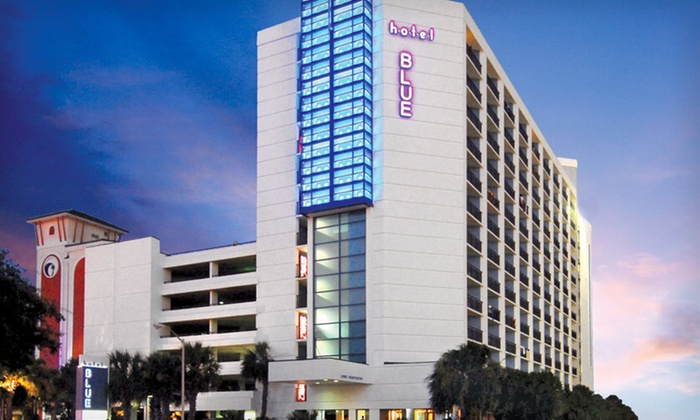 Hotel Blue - Myrtle Beach, SC: Two-Night Stay with Breakfast at Hotel Blue in Myrtle Beach, SC