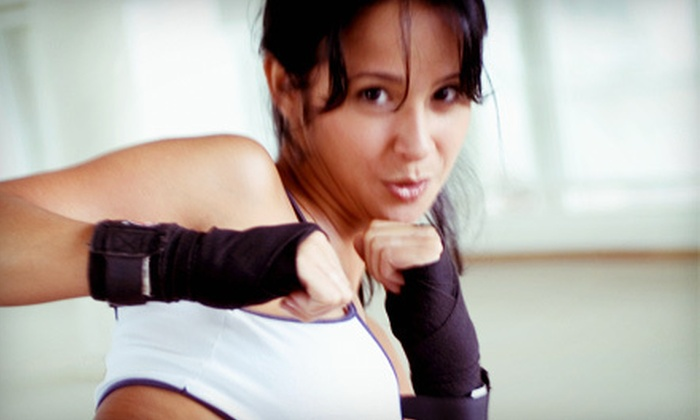 Southampton Martial Arts - Upper Southampton: 10 or 20 Cardio Kickboxing or Karate Classes and One Pair of Boxing Gloves at Southampton Martial Arts (Up to 86% Off)