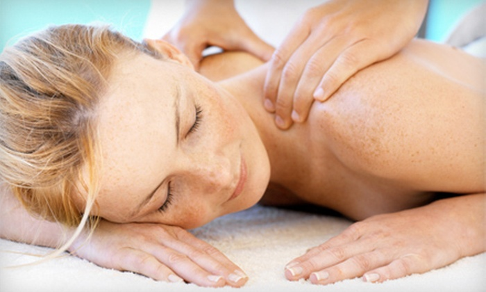The Beauty Lounge - The Beauty Lounge: $89 for Spa Package with 45-Minute Massage, Manicure with Paraffin Dip, and Pedicure at The Beauty Lounge ($185 Value)