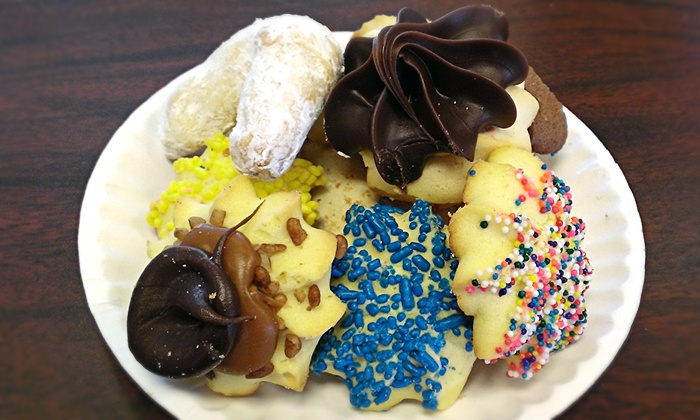 Dolce Bakery & Cafe - St. Charles: Baked Goods and Cafe Fare or Two Pounds of Butter Cookies at Dolce Bakery & Cafe (50% Off)