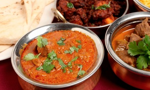Akash India Restaurant: Authentic Indian Cuisine at Akash India Restaurant (Up to 50% Off). Two Options Available.